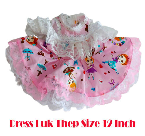 Thai Amulet Accessories Yellow Dress Color Lady Doll Luk Thep Size 12 Inch No.09