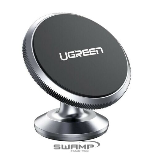 UGREEN 60316 Alloy Magnetic Dashboard Phone Holder Car Mount Space Grey Rotation
