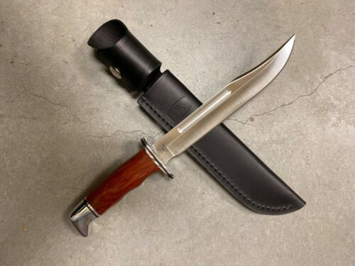 Buck Knives 120 General - Heritage Series, D2 Steel with Leather Sheath
