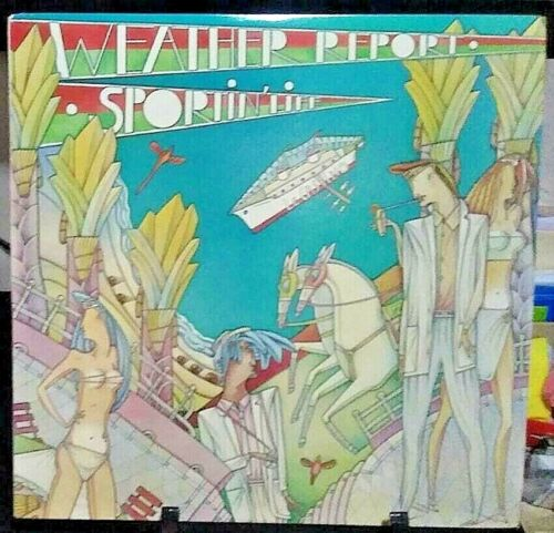 WEATHER REPORT Sportin' Life Album Released 1985 Vinyl Collection USA