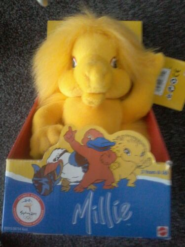 Olympic Mascot Sydney 2000, MILLIE (Echidna) Official, New  in Box Ringwood Vic