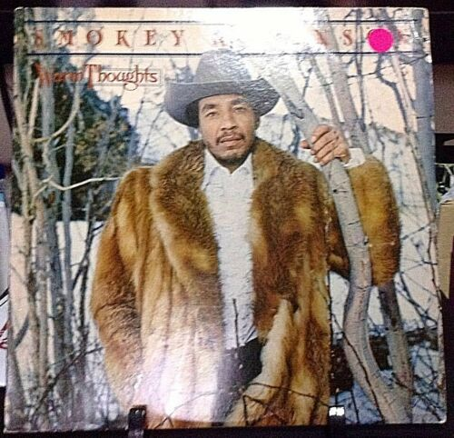 SMOKEY ROBINSON Warm Thoughts  Album Released 1980 Vinyl/Record  Collection US