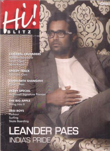 INDIA - HI ! BLITZ  - VOL 10 ISSUE 4 - MARCH 2012 -  PAGES 150