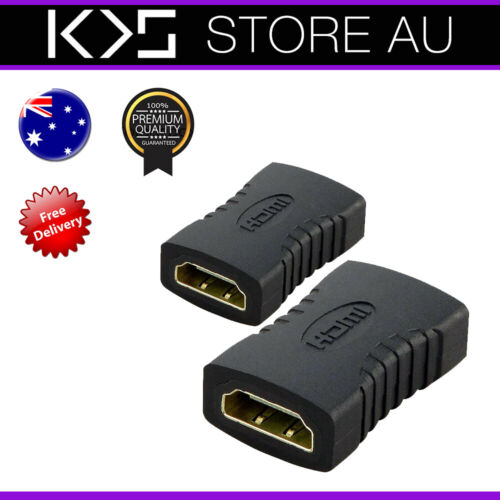 HDMI Female to HDMI Female Joiner Coupler Cable Adapter - AUS Stock <br/> 🛑 Fast & Same Day Dispatch from Sydney 🛑 AUS Stock 🛑