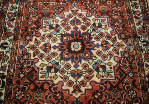 3'6 x 10'6 Beautiful S Antique Hand Knotted Oriental Wool Runner Nomad Rug 4x11