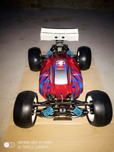 Caster Racing Fusion Vintage 1:8 Brushless 4WD Buggy RTR Hobbywing