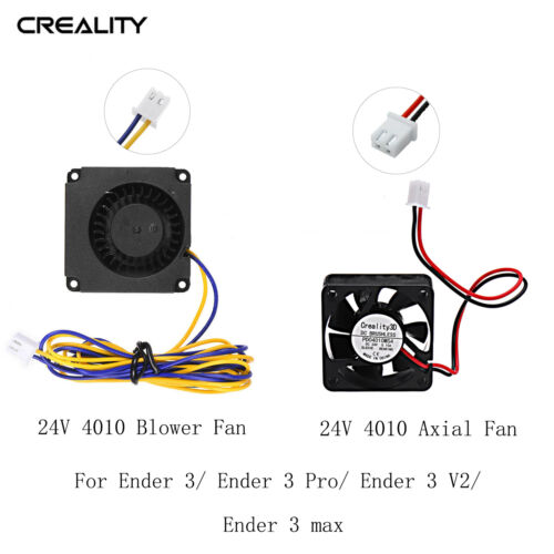 Creality 4010 Axial/Blower 24V Cooling Fan For Ender 3 Series AU Stock