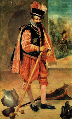 """oil painting on canvas """"The Jester called Don Juan of Austria """"@NO9218"""