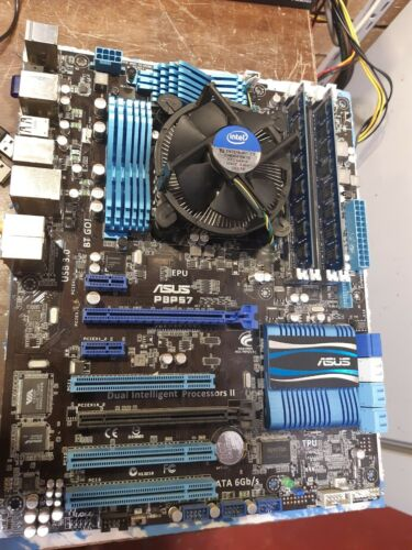 Asus P8P67 motherboard w/ Intel Core i5-2500 @ 3.3GHz, 8.0GB RAM