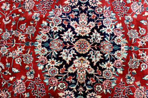 9X12 1960's MINT HAND KNOTTED 300+KPSI VEGETABLE DYE WOOL TABRIZZ ORIENTAL RUG