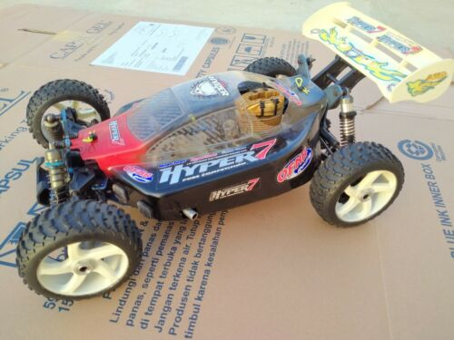 Modified Hobao Racing Hyper 7 Pure Competition Rossi R21 HP-HT Team Line hyper7