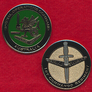 Special Operations Command Challenge Coin - 1 CDO REGT Militaria