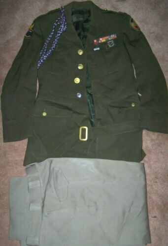WW2 ROTC UNIFORM FROM OMAHA CENTRAL, NAMED, U.S. ISSUE *NICE*