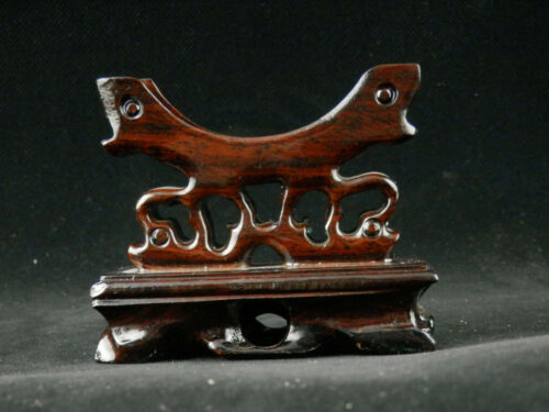Exquisite Chinese Wood Hand Made Bangle Stand GG118