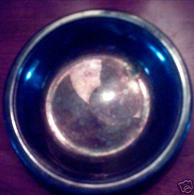 Reed & Barton Colonial Silverplate Candy Dish Preowned
