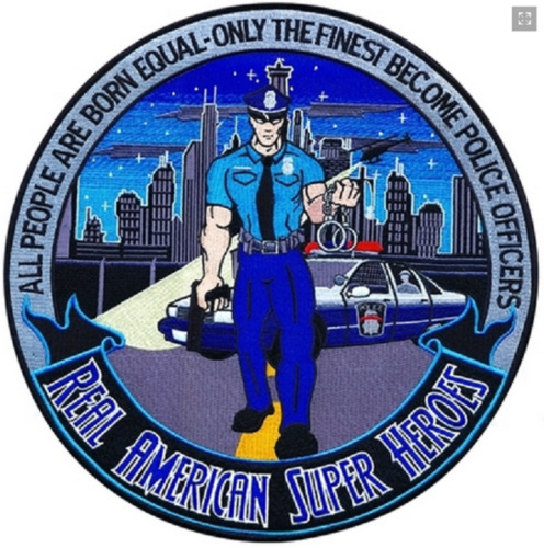 Patch Real American Hero Police 5