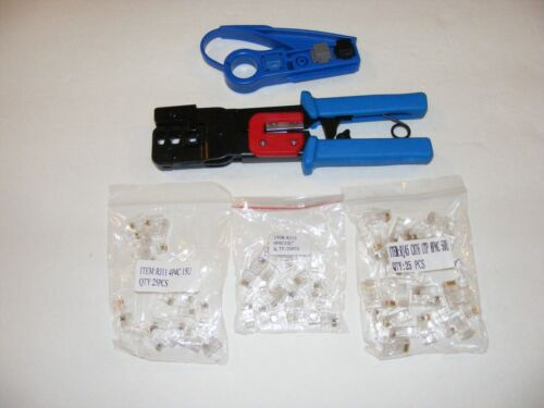 rj10, rj11, rj45 phone wire crimper tool ideal for patch cords