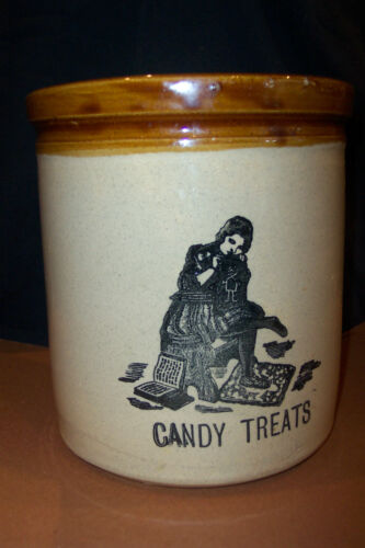 CANDY JAR-MADE IN ENGLAND-MOIRA POTTERY CO. LTD--BEAUTIFUL TO LOOK AT AND HAVE!