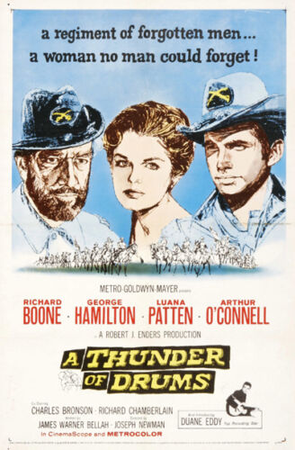 A thunder of drums Richard Boone Hamilton movie poster print 2