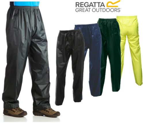Regatta Stormbreak Waterproof Mens & Womens Over Trousers Fishing Walking Hiking