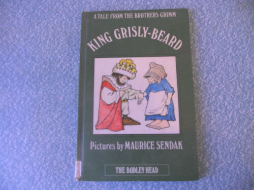 KING GRISLY-BEARD maurice sendak; a tale from the brothers grimm HB 1ST UK 1974