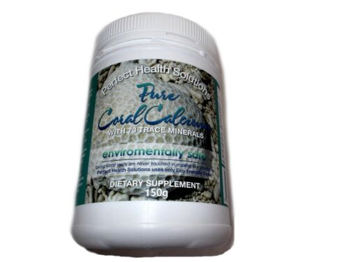 PERFECT HEALTH SOLUTIONS Pure Coral Calcium Powder 150g  previous okinawa gold
