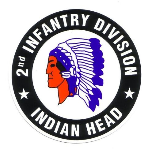 2ND INFANTRY DIVISION (sticker)