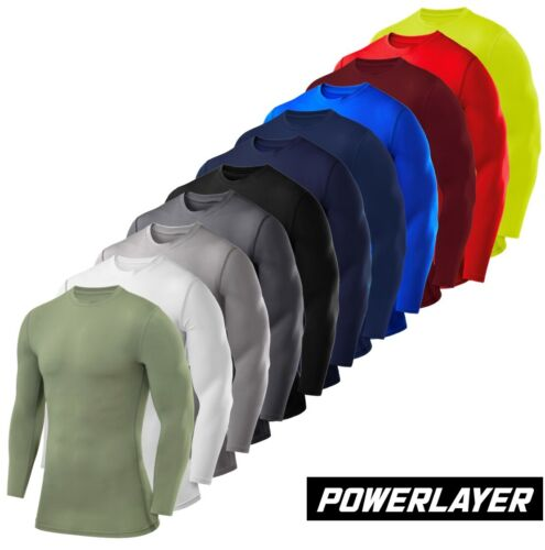 Mens Boys Body Armour Compression Baselayers Thermal Under Shirt Top Skins <br/> ✓ Free Delivery ✓ High Quality ✓ Easy Returns