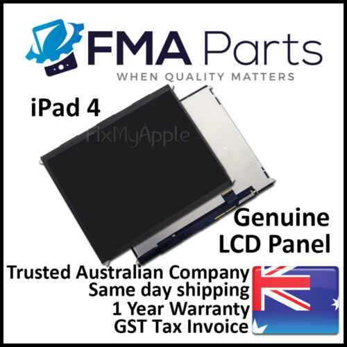 iPad 4 with Retina Display OEM LCD Panel Display Screen New Replacement 4th Gen