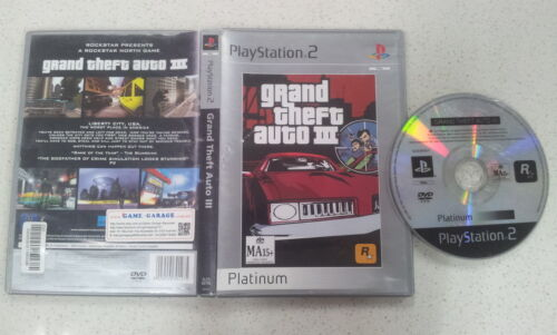 Grand Theft Auto III PS2 Game USED PAL Region