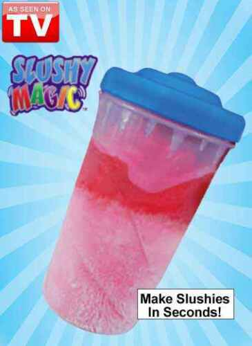 Slushy Magic Frozen Drink Kit Make Slushies in Seconds ice cream cubes cup <br/> Same Business Day* Dispatch✔ Powerseller✔