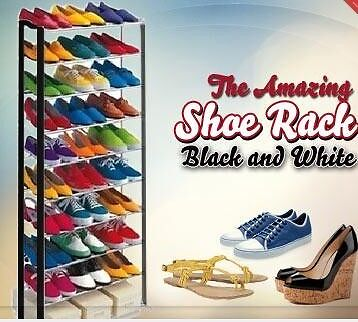 Amazing Shoe Rack that can store upto 30 pairs similar as seen on TV portable <br/> Paypal Accepted✔Same Business Day*Dispatch✔Powerseller✔