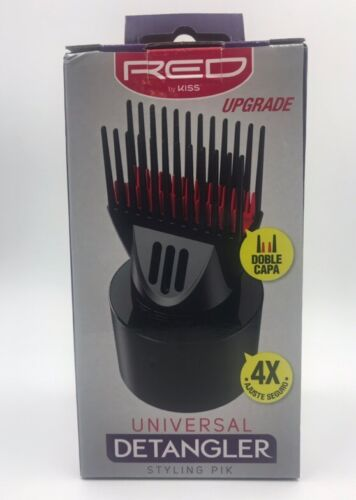 RED BY KISS UNIVERSAL DETANGLER STYLING PIK BLOW DRYER COMB BY RED  #UBPIK01