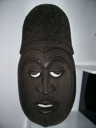 old Mask oceanic. ancien Masque oceanien tribal art premier primitif