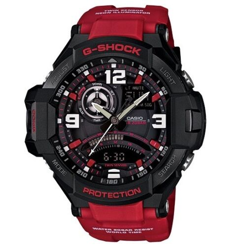 Casio G Shock * G-Aviation Gravity Defier GA1000-4B Red Resin COD PayPal <br/> SPECIAL OFFER! Nationwide COD Free Ship Meet Up PayPal