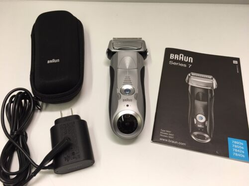Braun 7893s Series 7 Sonic Opti-Foil Wet & Dry Electric Shaver 2018 Newest Model