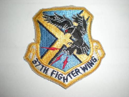 USAF 37TH FIGHTER WING PATCH F-117 -COLORAir Force - 66528