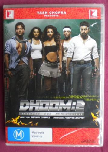 DHOOM 2, HINDI/BOLLYWOOD MOVIE,DVD,BRAND NEW FACTORY SEALED,ENGLISH SUBTITLES,