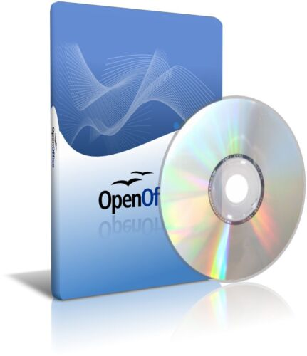Open Office Apache 4.1.1 Professional for Home Business Student Writer Calc Math_main_foto