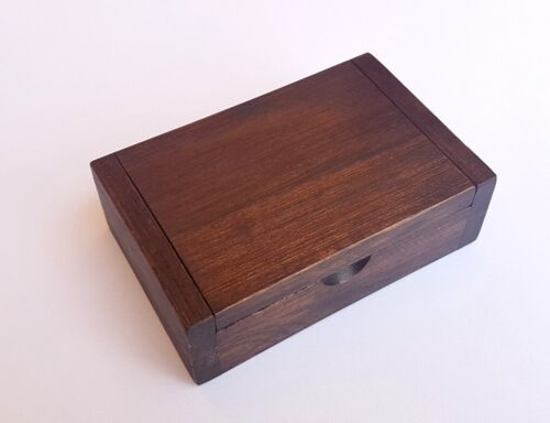 Wooden box ,Wooden Trinket Box Storage Jewelry Name Card