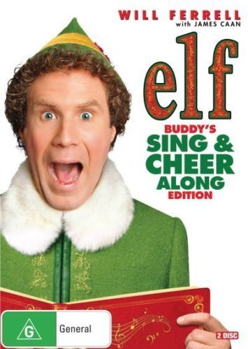 ELF Buddy's SING & CHEER ALONG Edition DVD CHRISTMAS MOVIES SANTA BRAND NEW R4