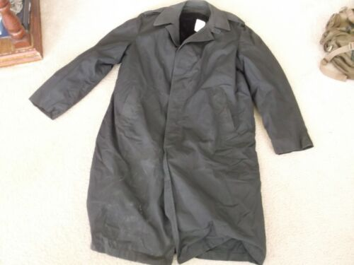 US MILITARY ALL WEATHER COAT  W/ LINER BLACK SIZE 40LOriginal Period Items - 13983