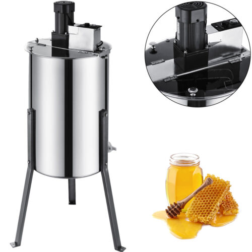 2/4 Frame Electric Honey Extractor Stainless - Beekeeping Stainless Steel Spinne <br/> Electric Motor √ Stainless Steel √ Top Seller from AU √