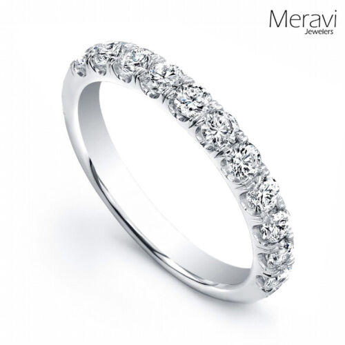 925 Sterling Silver Womens Wedding Bridal Band CZ Accent Engagement Promise Ring