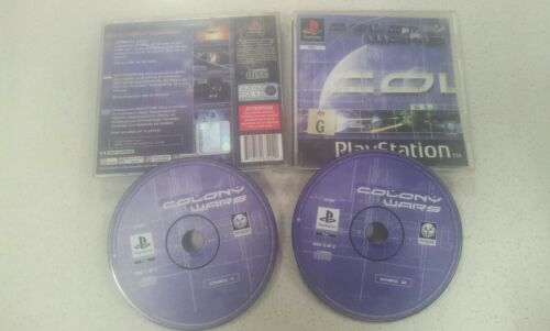 Colony Wars PS1 Game Used PAL Region