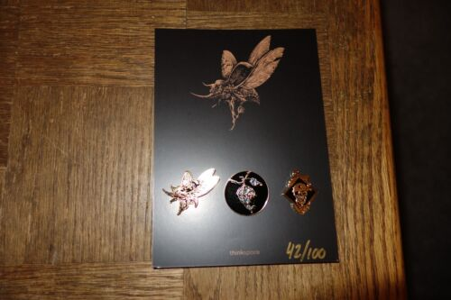 The Gilded Age Embossed Soft Enamel Pin Set The Vacvvm Aaron Horkey Esao Andrews