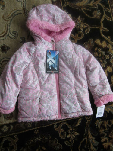 NWT ZeroXposur Sherpa Lined Leopard Transitional Jacket Toddler Girl SIZE: 3T,4T