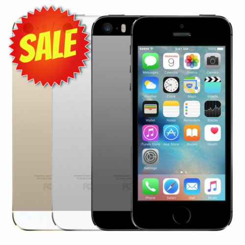 Apple iPhone 5S (Factory Unlocked) AT&T T-Mobile Metro ANY GSM 16GB 32GB 64GB <br/> EXTRA 15% OFF | TOP SELLER | WARRANTY | BONUS ACCESSORY