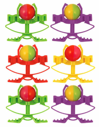 6 Crazy Ball Shooters - Pinata Toy Loot/Party Bag Fillers Wedding/Kids