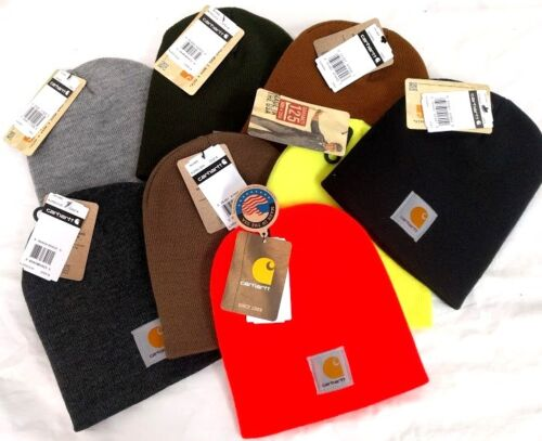 Carhartt A205 Acrylic Knit Beanie cap USA MADE [C2-205] Free ship in US